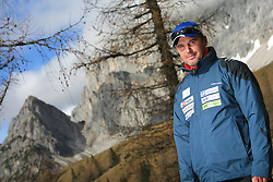 Borut Nunar of Slovenian Men Biathlon Team at Dachstein glacier before new season 2008/2009, Austria, on October 30, 2008.  (Photo by Vid Ponikvar / Sportida)