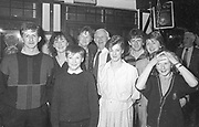"""The O""""Connor family from Kilcummin pictured in 1986<br /> Killarney Now & Then - MacMONAGLE photo archives.<br /> Picture by Don MacMonagle -macmonagle.com"""