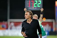 SOCCER : GFC Ajaccio vs Red Star -Coupe de la ligue - 08/22/201<br /> <br /> (GFCA) vs Regis Brouard Coach  (Red Star)<br /> <br /> Norway only