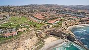 Rancho Palos Verdes Coastal Aerial Stock Photo