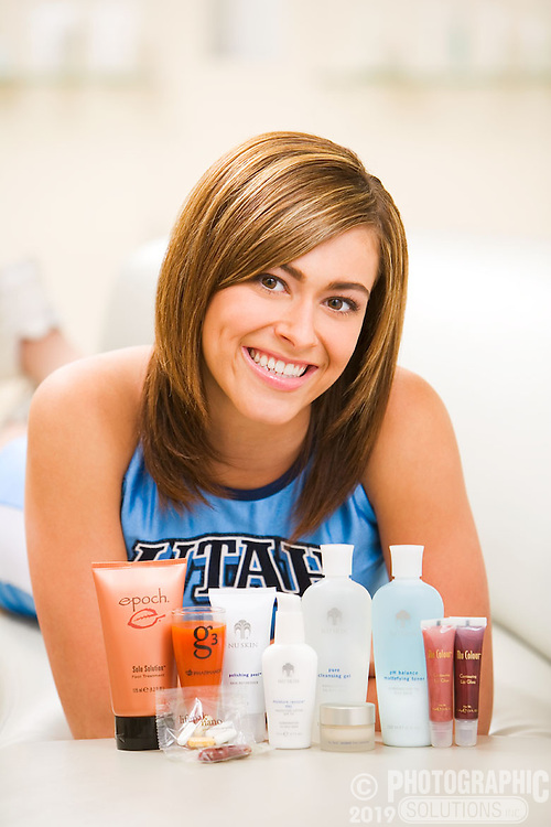 Nuskin sponsors the Utah Jazz basketball team, and they get free skin care products. They seem to work!