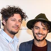 NLD/Amsterdam/20161005 - Filmpremiere Tonio, Mingus Dagelet en neef Boris