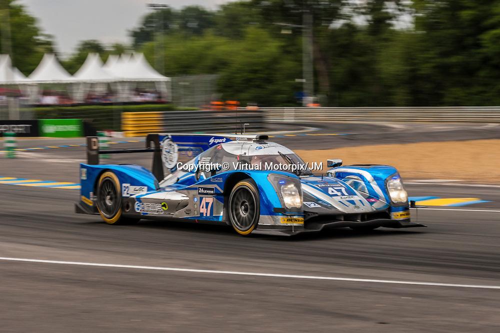 #47 Oreca 05-Nissan, KCMG, Richard Bradley, Matthew Howson, Nicolas Lapierre, Le Mans 24H 2015