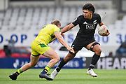 Kitiona Vai.<br /> All Blacks Sevens v Australia, Trans-Tasman Sevens. Eden Park, Auckland. New Zealand. Saturday 22 May 2021. © Copyright Photo: Andrew Cornaga / www.photosport.nz