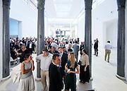 Milan, multimedia event at Palazzo della Treinnale
