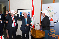 Images from the Grand Opening of the Calgary offices of Tech Skills Resources. Ireland Minister for Trade and Development Joe Costello was on hand at the event to congratulate the Tech Skills team and to help officially open the office.<br /> <br /> ©2013, Sean Phillips<br /> http://www.RiverwoodPhotography.com