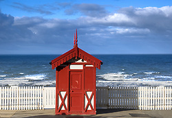 July 21, 2019 - Little Red Beach House, Scarborough, North Yorkshire, England (Credit Image: © John Short/Design Pics via ZUMA Wire)