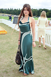 MARTHA FREUD at the Veuve Clicquot Gold Cup polo final held at Cowdray Park, Midhurst, West Sussex on 18th July 2010.