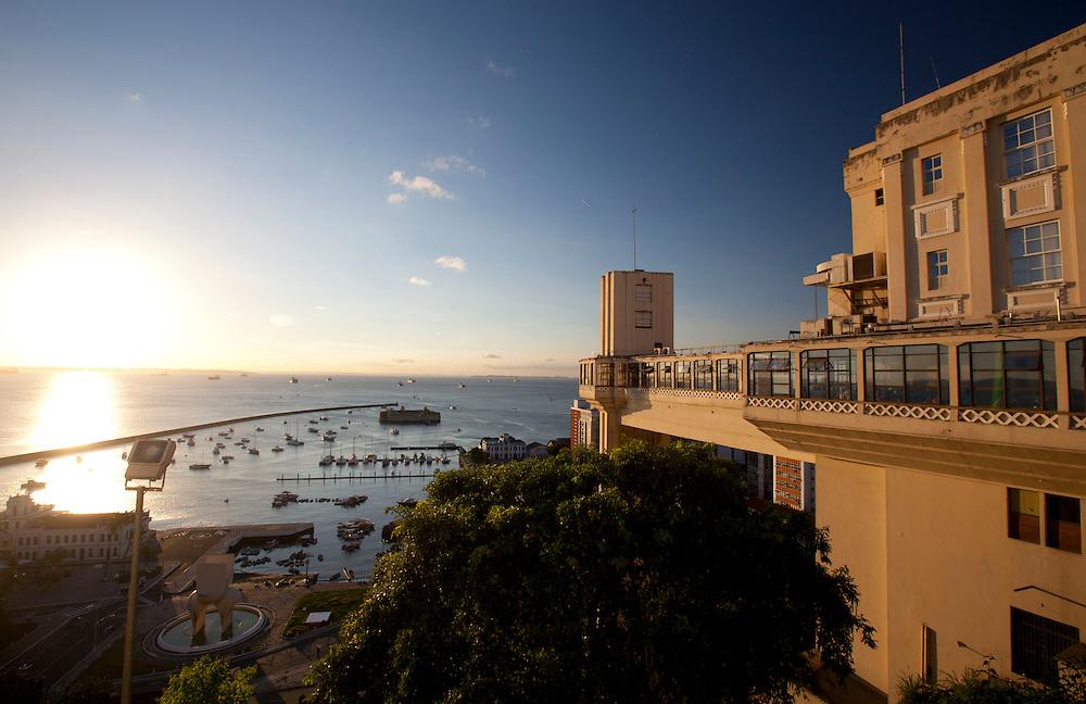 SALVADOR_BA, Brasil.<br /> <br /> O Elevador Lacerda em Salvador, capital da Bahia.<br /> <br /> The Elevador Lacerda (Lacerda Elevator) in Salvador, Bahia.<br /> <br /> Foto: RODRIGO LIMA / NITRO.