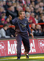 Photo: Olly Greenwood.<br />Charlton Athletic v Manchester City. The Barclays Premiership. 04/11/2006. Manchester City manager Stuart Pearce