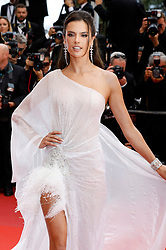 May 13, 2019 - Cannes, Alpes-Maritimes, Frankreich - Alessandra Ambrosio attending the opening ceremony and screening of 'The Dead Don't Die' during the 72nd Cannes Film Festival at the Palais des Festivals on May 14, 2019 in Cannes, France (Credit Image: © Future-Image via ZUMA Press)