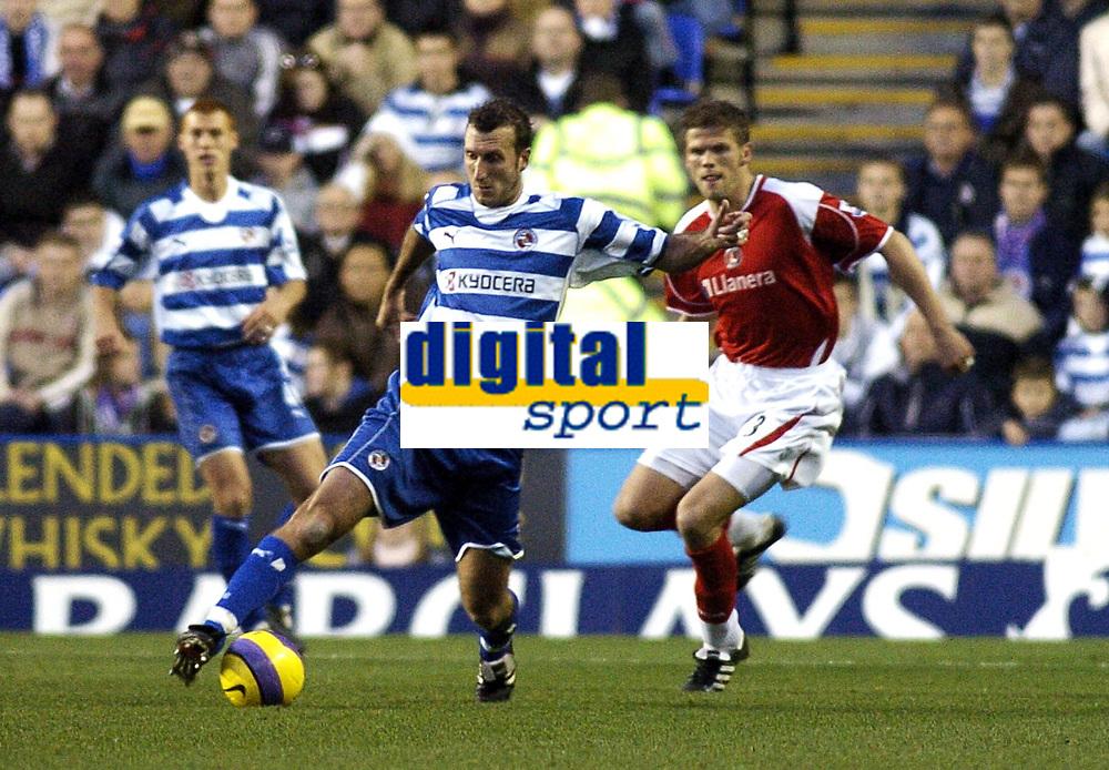 Photo: Gareth Davies.<br />Reading v Charlton Athletic. The Barclays Premiership. 18/11/2006.