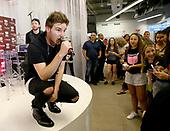 iHeartRadio 'Rising Star' Finalist AJ Visits Macy's Garden State Plaza
