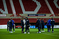 Bristol Rovers Under 18s arrive at Swindon Town - Mandatory by-line: Robbie Stephenson/JMP - 29/10/2019 - FOOTBALL - County Ground - Swindon, England - Swindon Town v Bristol Rovers - FA Youth Cup Round One