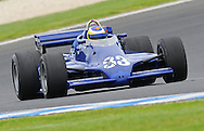Ray Stubber - R Racing - March Indy 81.Historic Motorsport Racing - Phillip Island Classic.18th March 2011.Phillip Island Racetrack, Phillip Island, Victoria.(C) Joel Strickland Photographics.Use information: This image is intended for Editorial use only (e.g. news or commentary, print or electronic). Any commercial or promotional use requires additional clearance.
