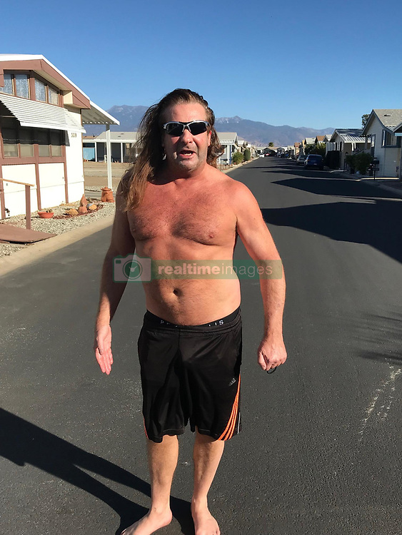 """EXCLUSIVE: This is the long haired car salesman who has been linked to Elvis Presley's ex-wife Priscilla Presley, according to a report in the US. Radar Online claimed German-born Matthias Granic, 58, met the 72-year-old actress at the Rio Vista Universal Studios holiday party in LA last month. Granic told the publication: """"When she walked by me, we locked eyes and she gave me a little smirk. I had to get a photo with her - and she agreed. She never takes photos with anyone. And I was the only one. I grabbed her waist tight and gave her a kiss. """"I'm six foot tall and she is so tiny and delicate. Her skin is like porcelain. She looks amazing."""" And martial arts fighter Granic, who lives in a retirement community in Hemet, CA, told Radar he emailed her afterwards. He said: """"We emailed. I wrote to her and she responded. I even offered my services to her. If she was ever going anywhere and needed someone there with her as protection, I would do it. She seemed very open to it."""". 10 Jan 2018 Pictured: Matthias Granic. Photo credit: AMI/MEGA TheMegaAgency.com +1 888 505 6342"""