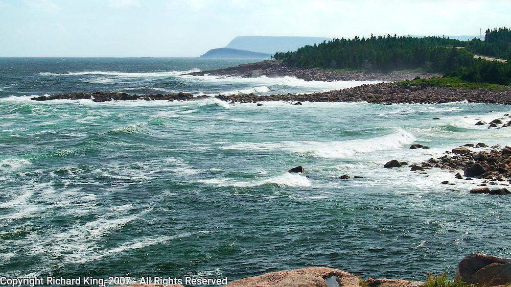 Atlantic Surf, Neil's Harbour, Cape Breton Island