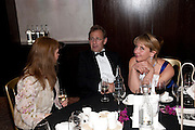 STUART FRANKLIN; CAROLINE SMITH, Sony World Photography Awards 2011 Gala Ceremony at the ODEON Leicester Square, afterwards dinner at the Intercontinental. 27 April 2011. -DO NOT ARCHIVE-© Copyright Photograph by Dafydd Jones. 248 Clapham Rd. London SW9 0PZ. Tel 0207 820 0771. www.dafjones.com.