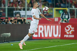 October 11, 2018 - Chorzow, Poland - Artur Jedrzejczyk (POL) during the UEFA Nations league match between Poland v Portugal at the Slaski Stadium on October 11, 2018 in Chorzow  (Credit Image: © Foto Olimpik/NurPhoto via ZUMA Press)