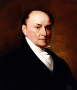 Portrait of John Quincy Adams after Thomas Sully and Gilbert Stuart, 1885. John Quincy Adams 1767 – 1848) was the sixth President of the United States (1825–1829)