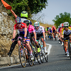 VAN DER BREGGEN Anna ( NED ) – Boels - Dolmans Cycling Team ( DLT ) - NED – Querformat - quer - horizontal - Landscape - Event/Veranstaltung: Giro Rosa Iccrea - 7. Stage - Category/Kategorie: Cycling - Road Cycling - Cycling Tour - Elite Women - Location/Ort: Europe – Italy - Start: Nola - Finish: Maddaloni - Discipline: Cycling - Road Cycling - Cycling Tour - Road Race ( RR ) - Distance: 112,5 km - Date/Datum: 17.09.2020 – Thursday - Photographer: © Arne Mill - frontalvision.com
