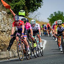 VAN DER BREGGEN Anna ( NED ) – Boels - Dolmans Cycling Team ( DLT ) - NED – Querformat - quer - horizontal - Landscape - Event/Veranstaltung: Giro Rosa Iccrea - 7. Stage - Category/Kategorie: Cycling - Road Cycling - Cycling Tour - Elite Women - Location/Ort: Europe – Italy - Start: Nola - Finish: Maddaloni - Discipline: Cycling - Road Cycling - Cycling Tour - Road Race ( RR ) - Distance: 112,5 km - Date/Datum: 17.09.2020 – Thursday - Photographer: © Arne Mill - frontalvision.com