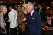 ANNEKA RICE; NICKY HASLAM, Ralph Lauren host launch party for Nicky Haslam's book ' A Designer's Life' published by Jacqui Small. Ralph Lauren, 1 Bond St. London. 19 November 2014