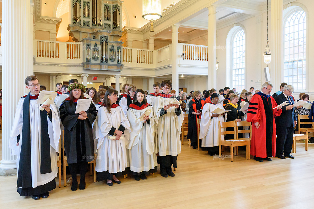 Ceremony of the Conferral of Certificates and the Awarding of Prizes Commencement Evensong at the Berkeley Divinity School at Yale University 19 May 2018