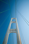 South Tower of the Mackinac Bridge