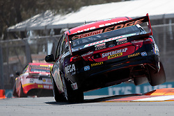 October 19, 2018 - Gold Coast, QLD, U.S. - GOLD COAST, QLD - OCTOBER 19: Chaz Mostert in the Supercheap Auto Racing Ford Falconduring Friday practice at The 2018 Vodafone Supercar Gold Coast 600 in Queensland on October 19, 2018. (Photo by Speed Media/Icon Sportswire) (Credit Image: © Speed Media/Icon SMI via ZUMA Press)