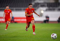 HELSINKI, FINLAND - Thursday, September 3, 2020: Wales' Daniel James during the UEFA Nations League Group Stage League B Group 4 match between Finland and Wales at the Helsingin Olympiastadion. (Pic by Jussi Eskola/Propaganda)