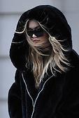 Gigi Hadid on Fifth Avenue
