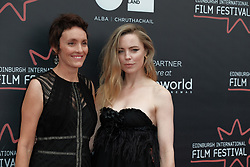 Edinburgh Film Festival, Friday 29th June 2018<br /> <br /> THE BUTTERFLY TREE<br /> <br /> Pictured: Melissa George and director Priscilla Cameron<br /> <br /> Alex Todd | Edinburgh Elite media