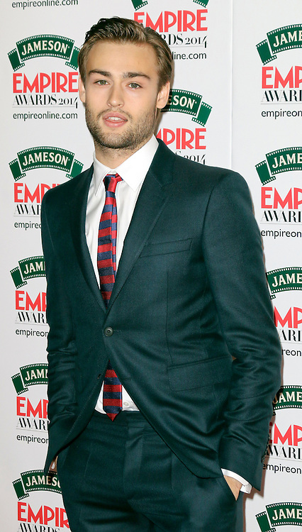 © Licensed to London News Pictures. 30/03/2014, UK. Douglas Booth, Jameson Empire Film Awards, Grosvenor House Hotel, London UK, 30 March 2014. Photo credit : Richard Goldschmidt/Piqtured/LNP