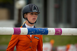 Hoogenraat Kim, (NED)<br /> Class 16 Nations Cup YR<br /> International Competition CSIO Young Riders Opglabbeek 2016<br /> © Dirk Caremans