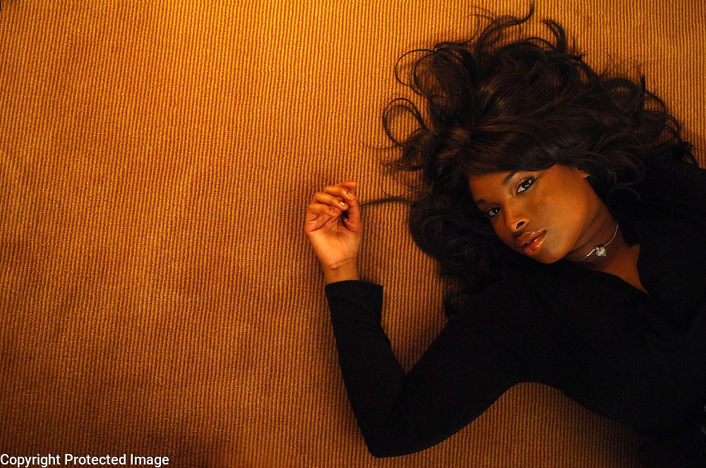 Actress/singer Jennifer Hudson, who is in the new film Dreamgirls, is seen at the Four Season Hotel in Manhattan, NY. 11/20/2006