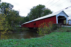 24 October 2017:  Roseville Bridge. <br /> <br />  Parke County Indiana is the site of the Indiana Covered Bridge Festival every October