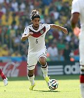 Fifa Soccer World Cup - Brazil 2014 - <br /> FRANCE (FRA) Vs. GERMANY (GER) - Quarter-finals - Estadio do MaracanaRio De Janeiro -- Brazil (BRA) - 04 July 2014 <br /> Here German player Sami KHEDIRA <br /> © PikoPress