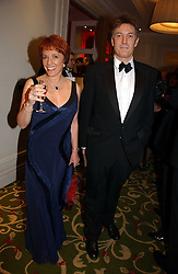 ESTHER RANTZEN and MICHAEL BOWEN at the Costa Book Awards 2006 held at The Grosvenor House Hotel, Park Lane, London W1 on 7th February 2007.<br /><br />NON EXCLUSIVE - WORLD RIGHTS