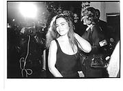 Koo Stark, New York, down town charity event, approx 1990© Copyright Photograph by Dafydd Jones 66 Stockwell Park Rd. London SW9 0DA Tel 020 7733 0108 www.dafjones.com