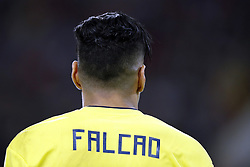Radamel Falcao Garcia of Colombia during the 2018 FIFA World Cup Russia round of 16 match between Columbia and England at the Spartak stadium  on July 03, 2018 in Moscow, Russia