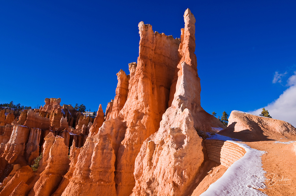 Rock formations along the Queens Garden Trail, Bryce Canyon National Park, Utah