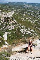 FRANKRIJK - Route des Crêtes la Ciota t Cassis  Var France.   ANP COPYRIGHT KOEN SUYK