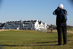 Alfred Dunhill Links Championship this morning at Championship Course at Carnoustie.