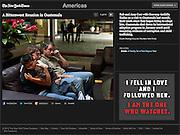 """A Bittersweet Reunion in Guatemala"", The New York Times, Mexico, December 8, 2012. Photographs by Rodrigo Cruz."