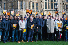 2015-10-14 FBU members lobby Parliament over public safety fears in face of cuts, PCCs takeover