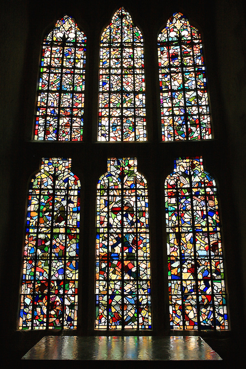 Tower Of London - Chapel Stained Glass Windows - London