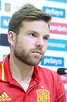 Spain's Asier Illarramendi in press conference after training session. June 8,2017.(ALTERPHOTOS/Acero)