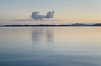 Clouds over Samish Bay, Washington