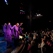 The Temptations thank fans after performing at The Music Hall in Portsmouth, NH